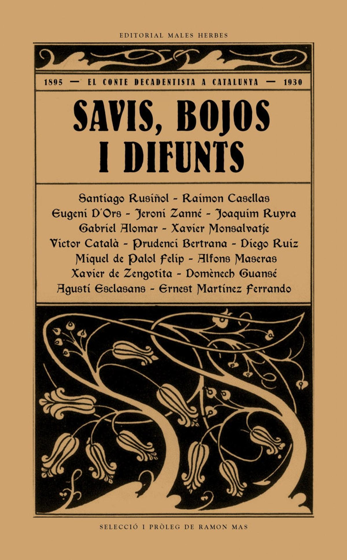 SAVIS, BOJOS I DIFUNTS 9788494780073