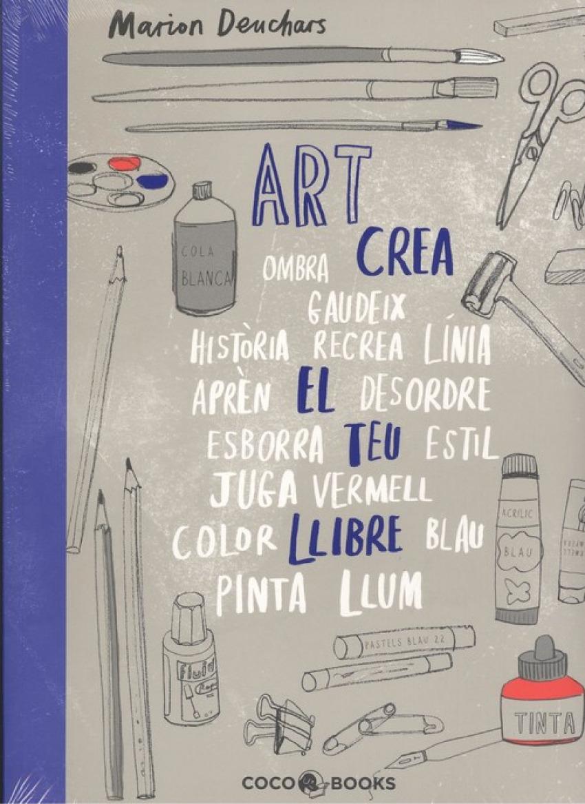 ART, CREA EL TEU LLIBRE 9788494913686