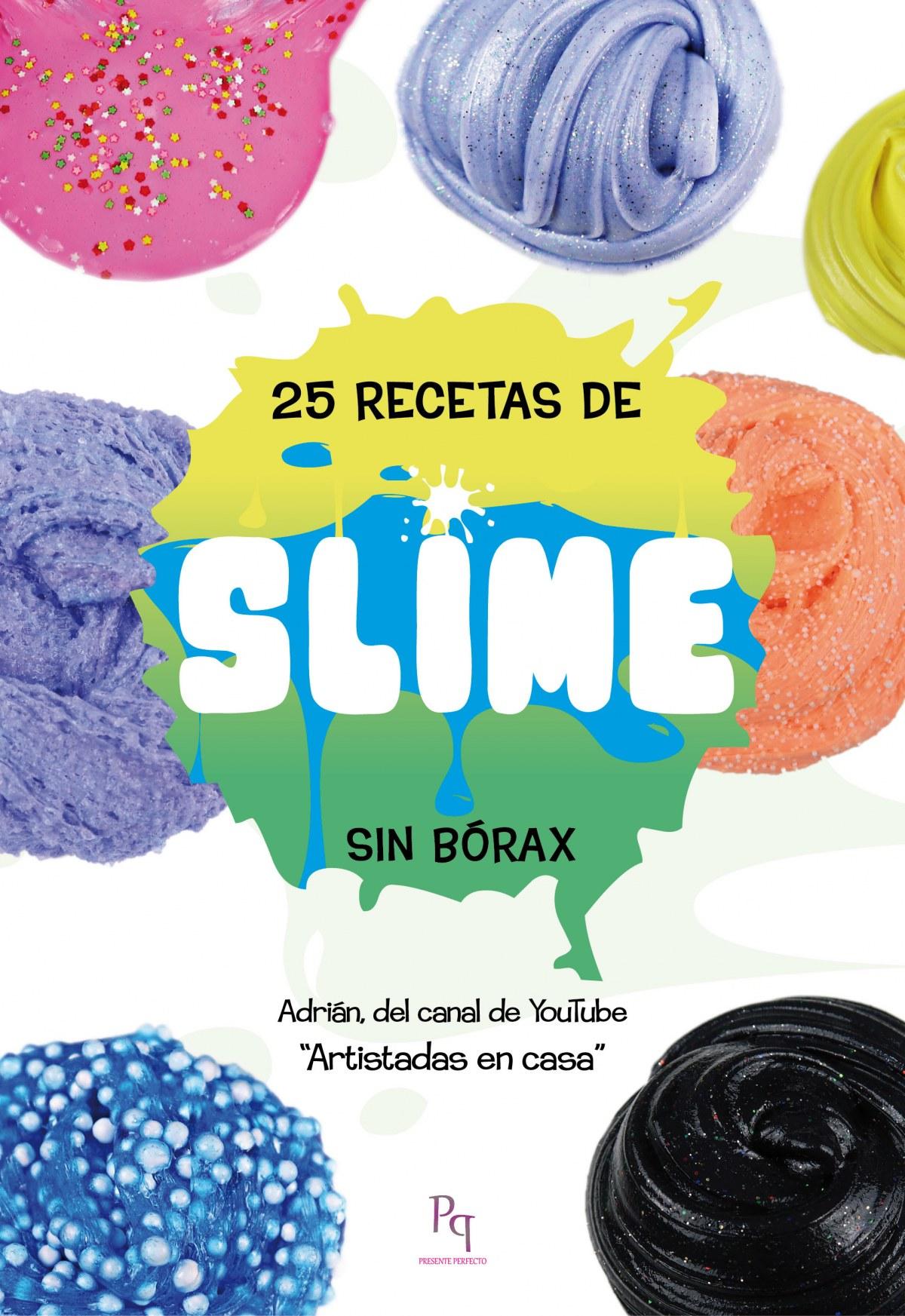 25 RECETAS DE SLIME 9788494917608