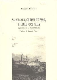 Salamanca ciudad de paso ciudad ocupada 9788495195593