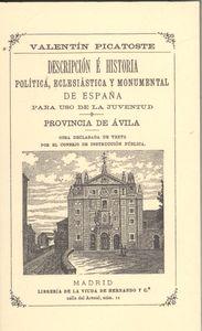 Descripción e historia pol¡tica eclesiástica y monumental de España 97884951956