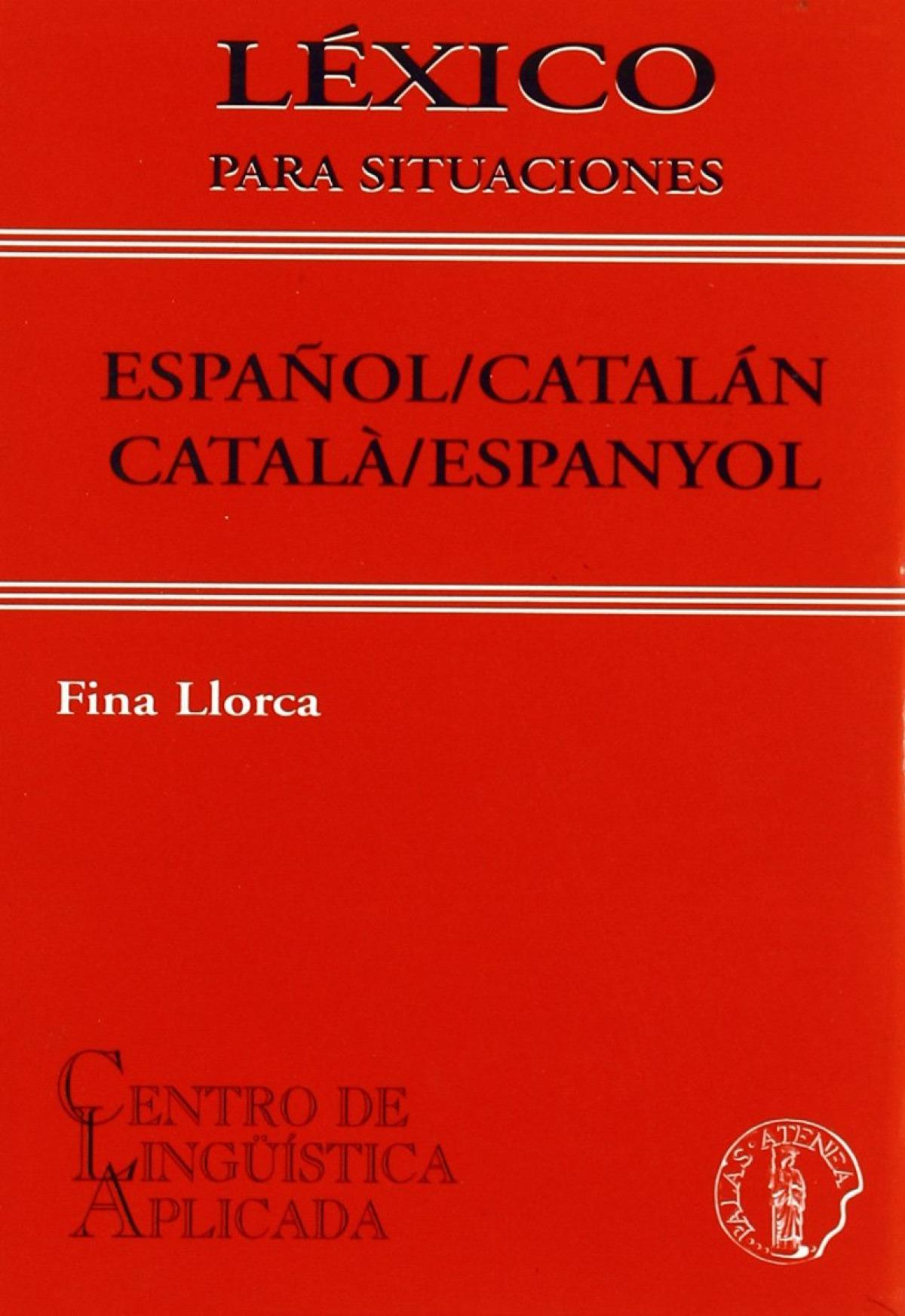 Lexico para situaciones español/catalan vv 9788495855206