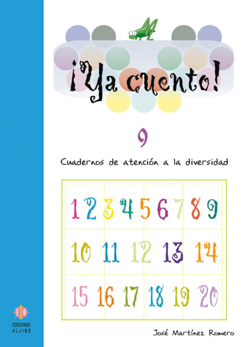 YA CUENTO!  9 NUMEROS (10) - ATENCION DIVERSIDAD 9788497002936