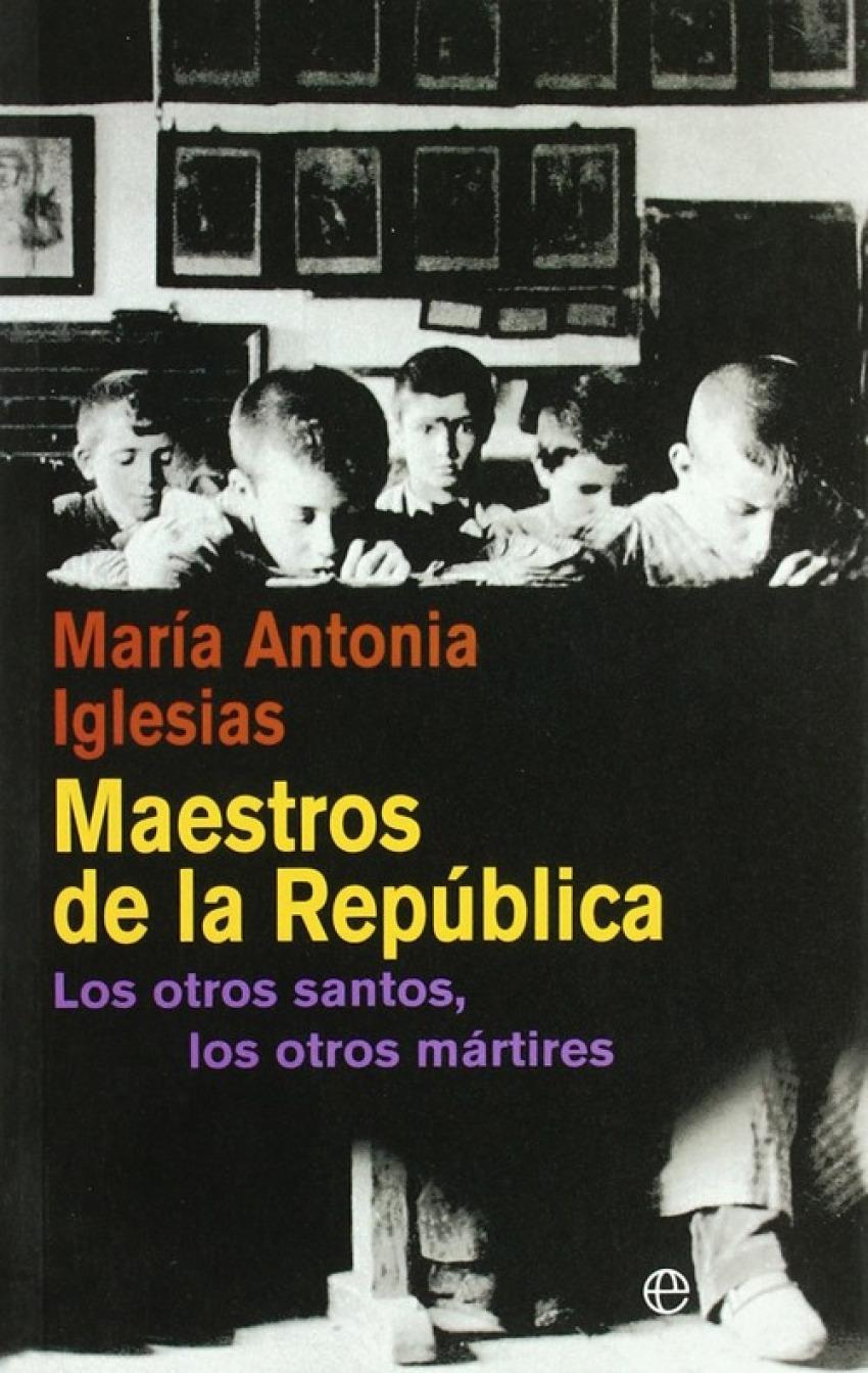 Maestros de la República 9788497349550