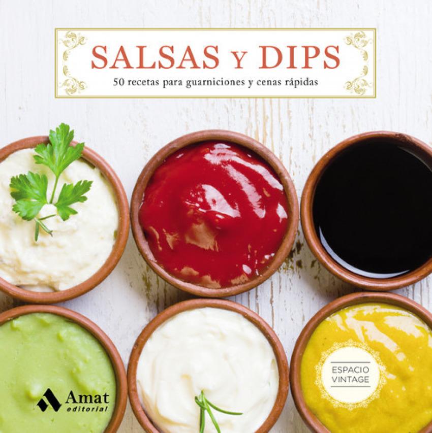 Salsas y dips 9788497358743