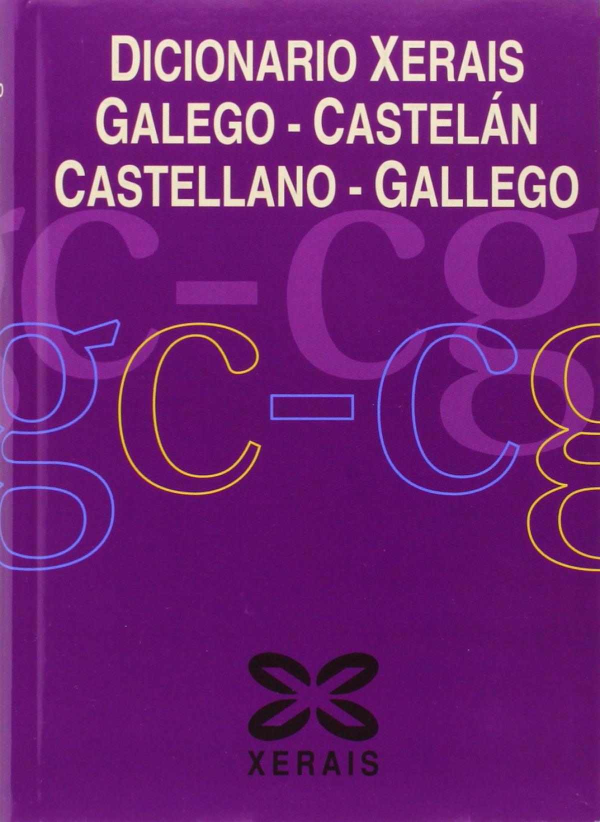 Dicionario Xerais Galego-Castelán Castellano-Gallego 9788497823197