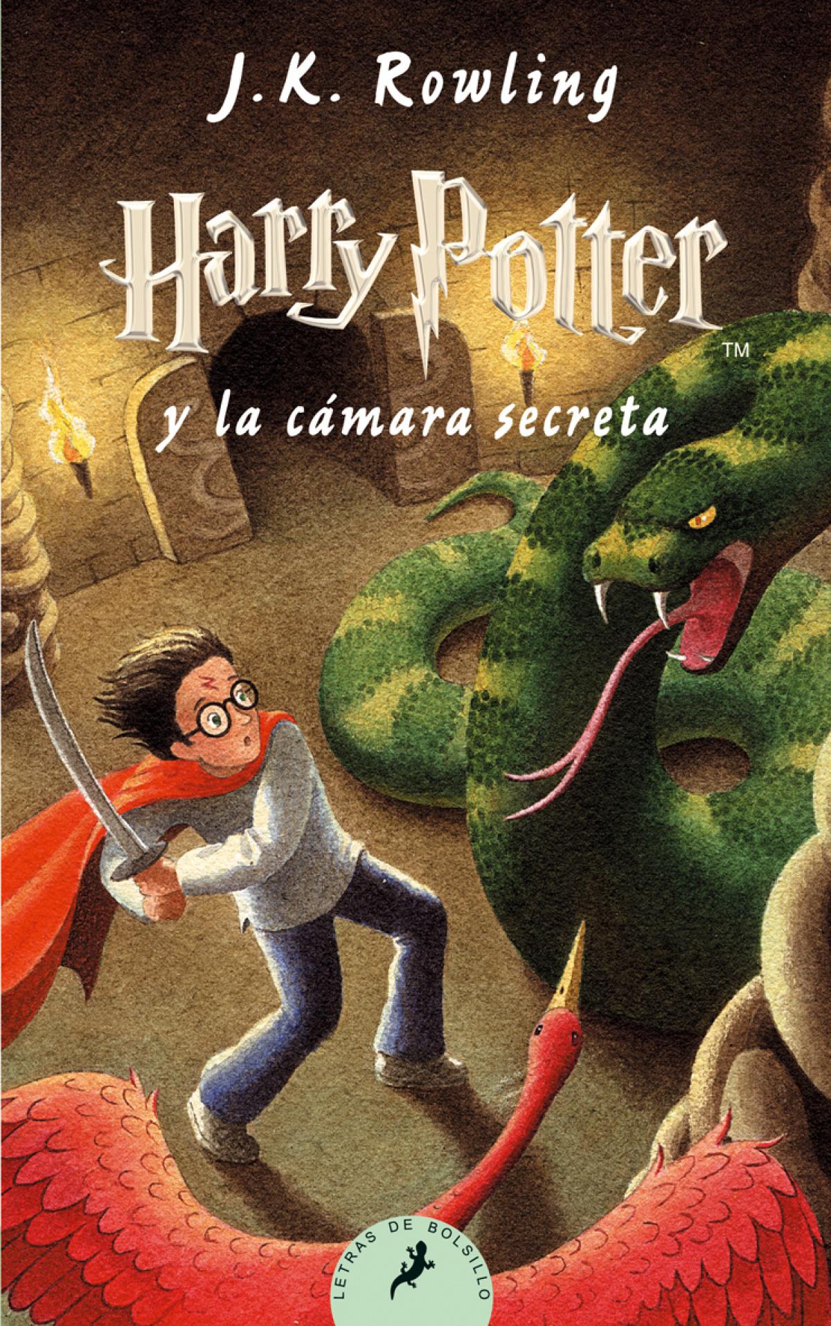 Harry potter y la camara secreta 9788498382679