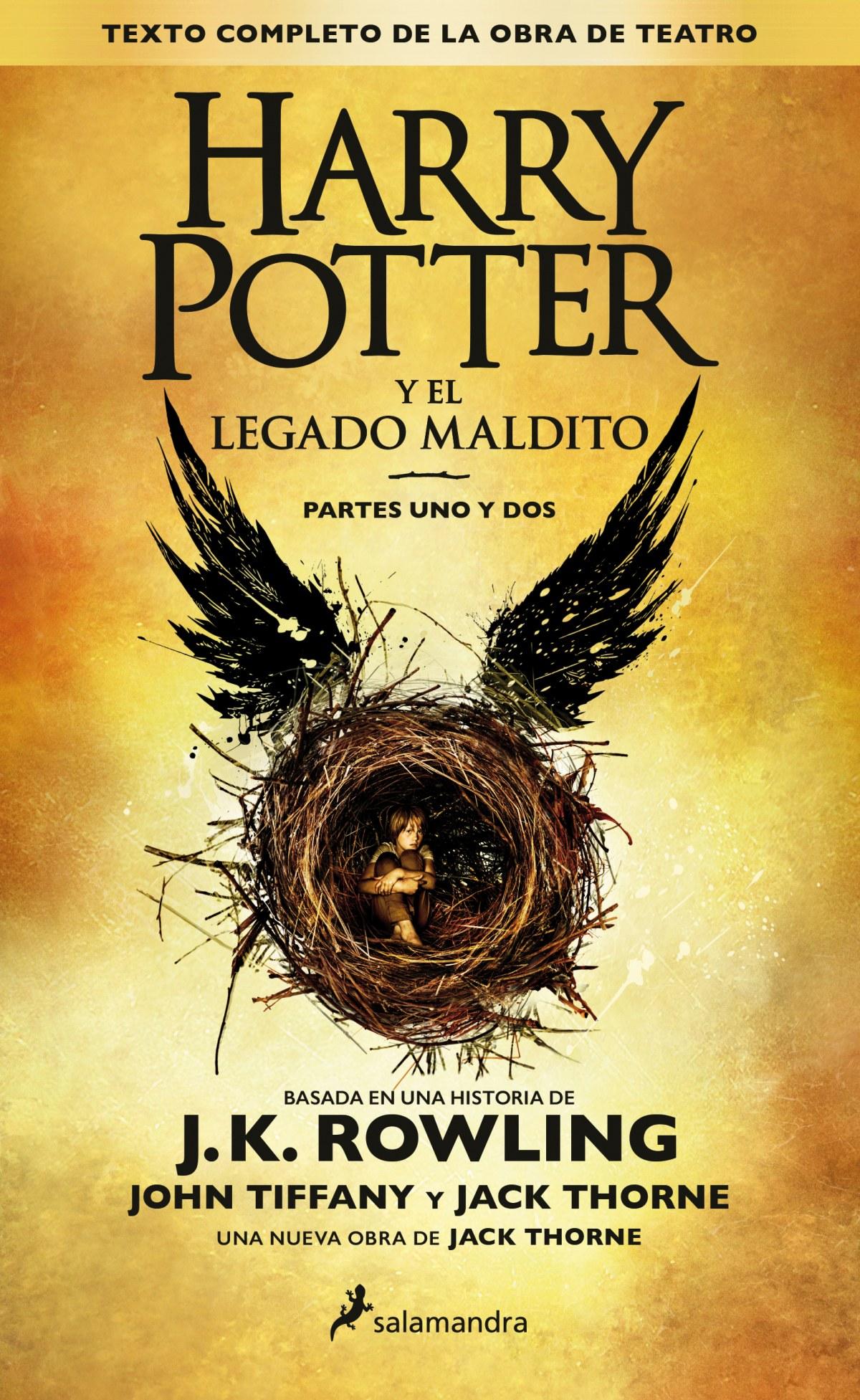 HARRY POTTER Y EL LEGADO MALDITO (PARTES UNO Y DOS) 9788498387544