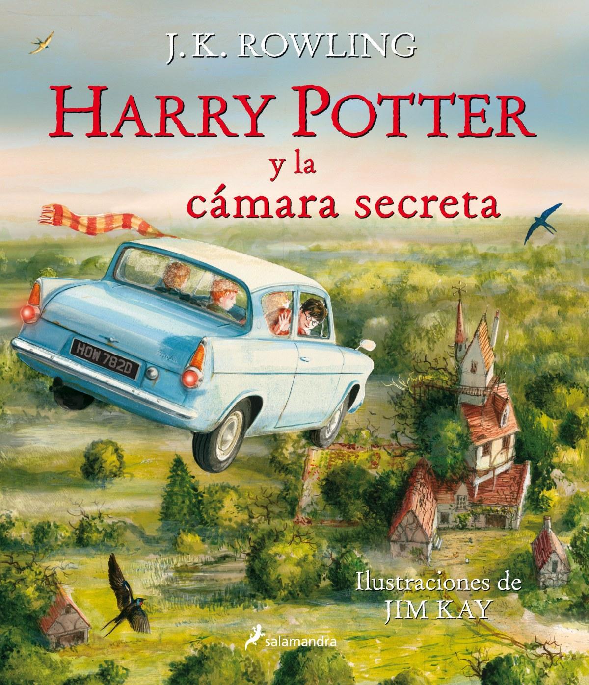 HARRY POTTER Y LA CAMARA SECRETA ILUSTRADO 9788498387636
