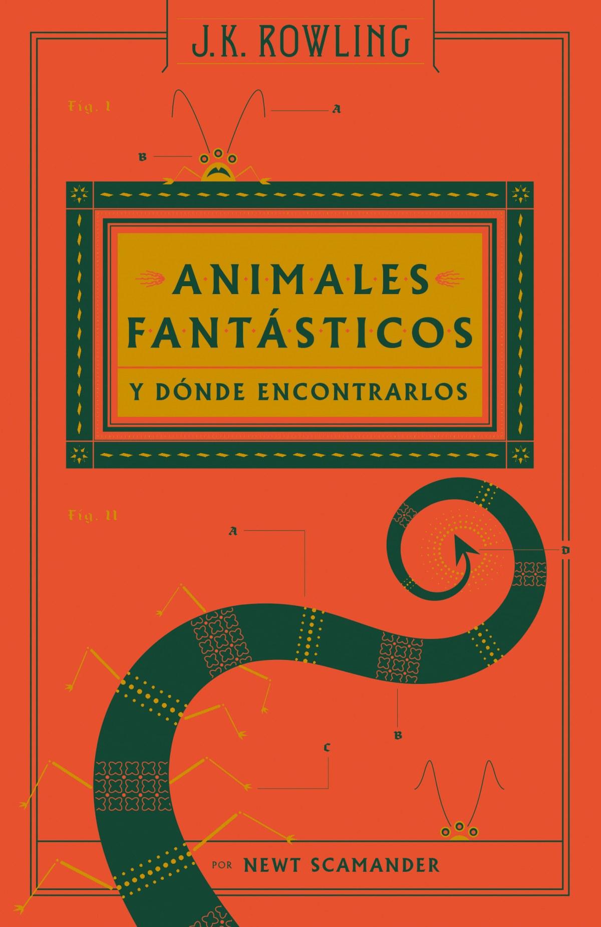 ANIMALES FANTÁSTICOS Y DÓNDE ENCONTRALOS 9788498387940