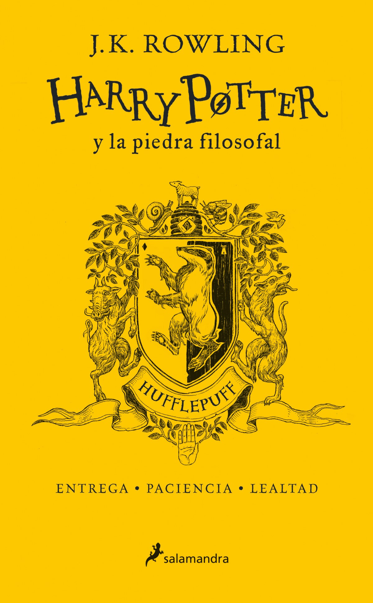 HUFFLEPUFF HARRY POTTER Y LA PIEDRA FILOSOFAL 9788498388893