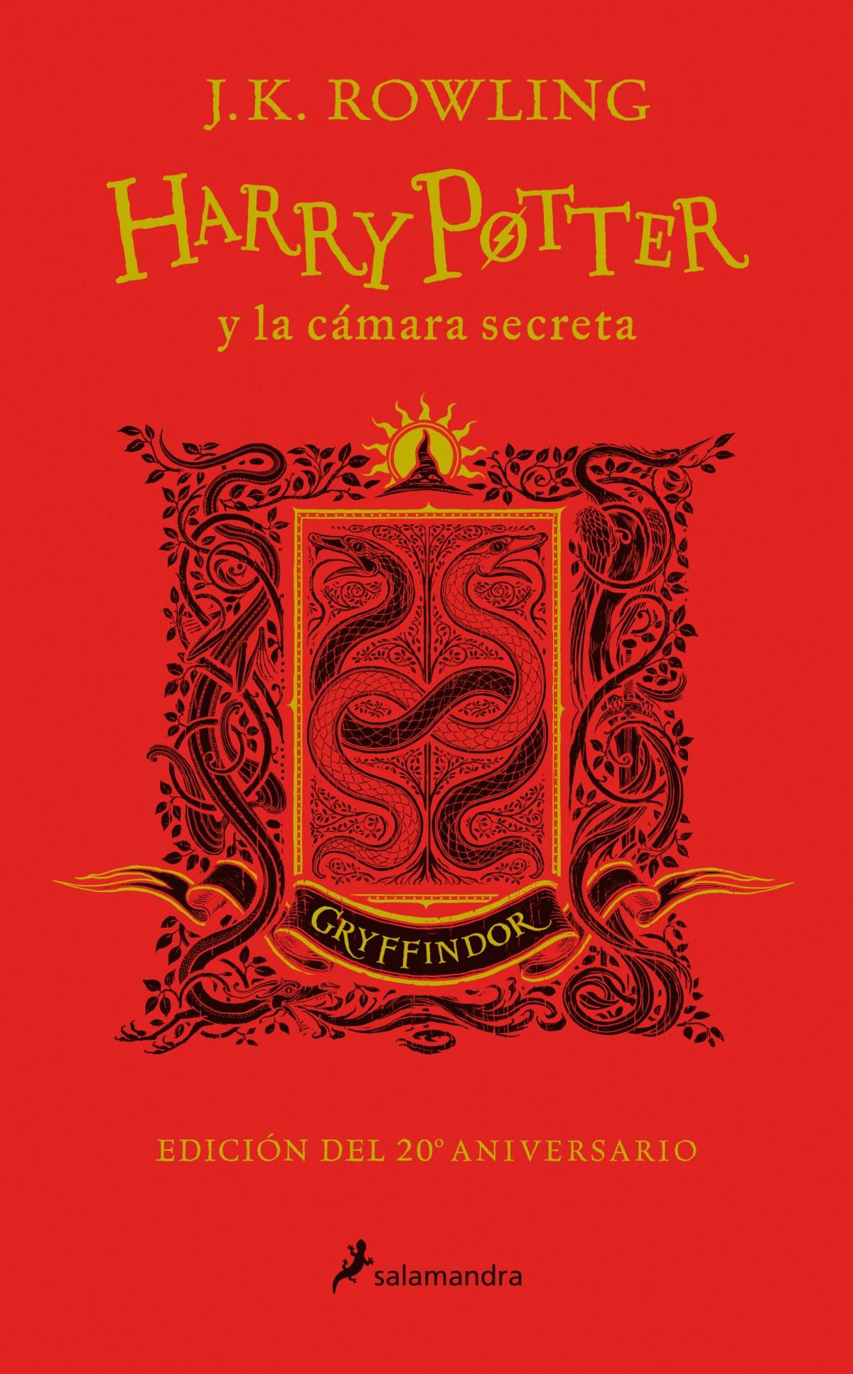 HARRY POTTER Y LA CÁMARA SECRETA. GRYFFINDOR 9788498389715