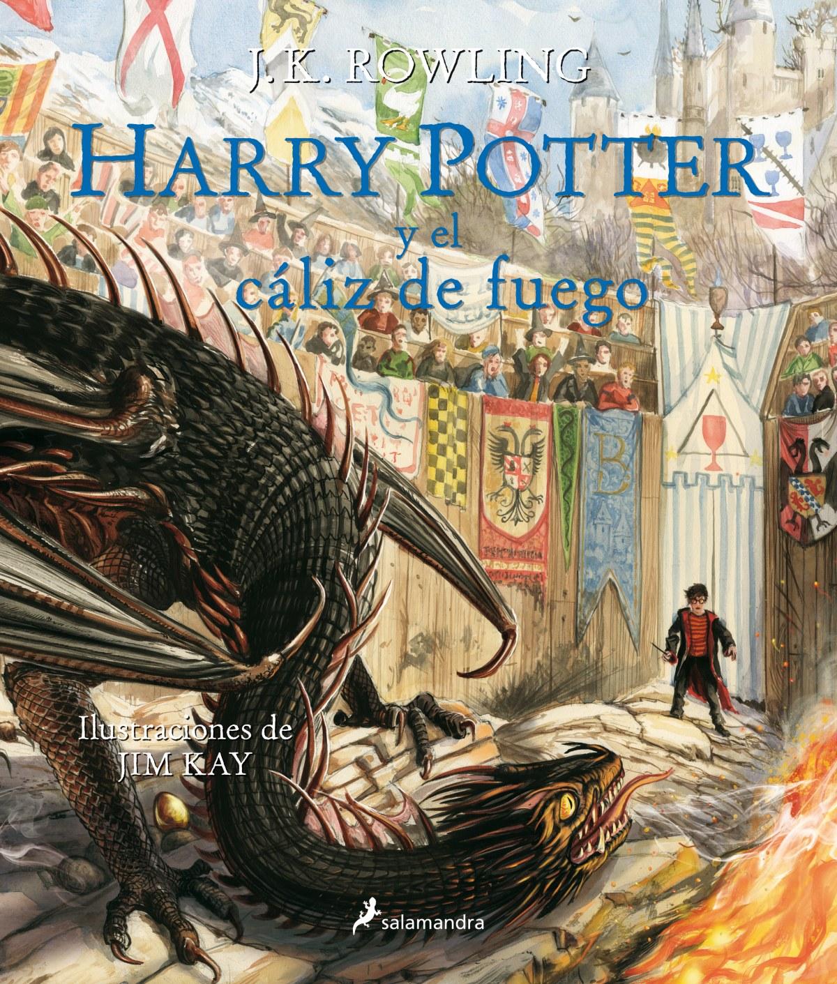 HARRY POTTER Y EL CÁLIZ DE FUEGO 9788498389944