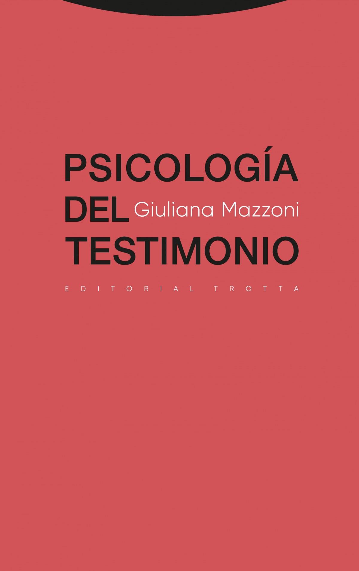 PSICOLOGÍA DEL TESTIMONIO 9788498797541