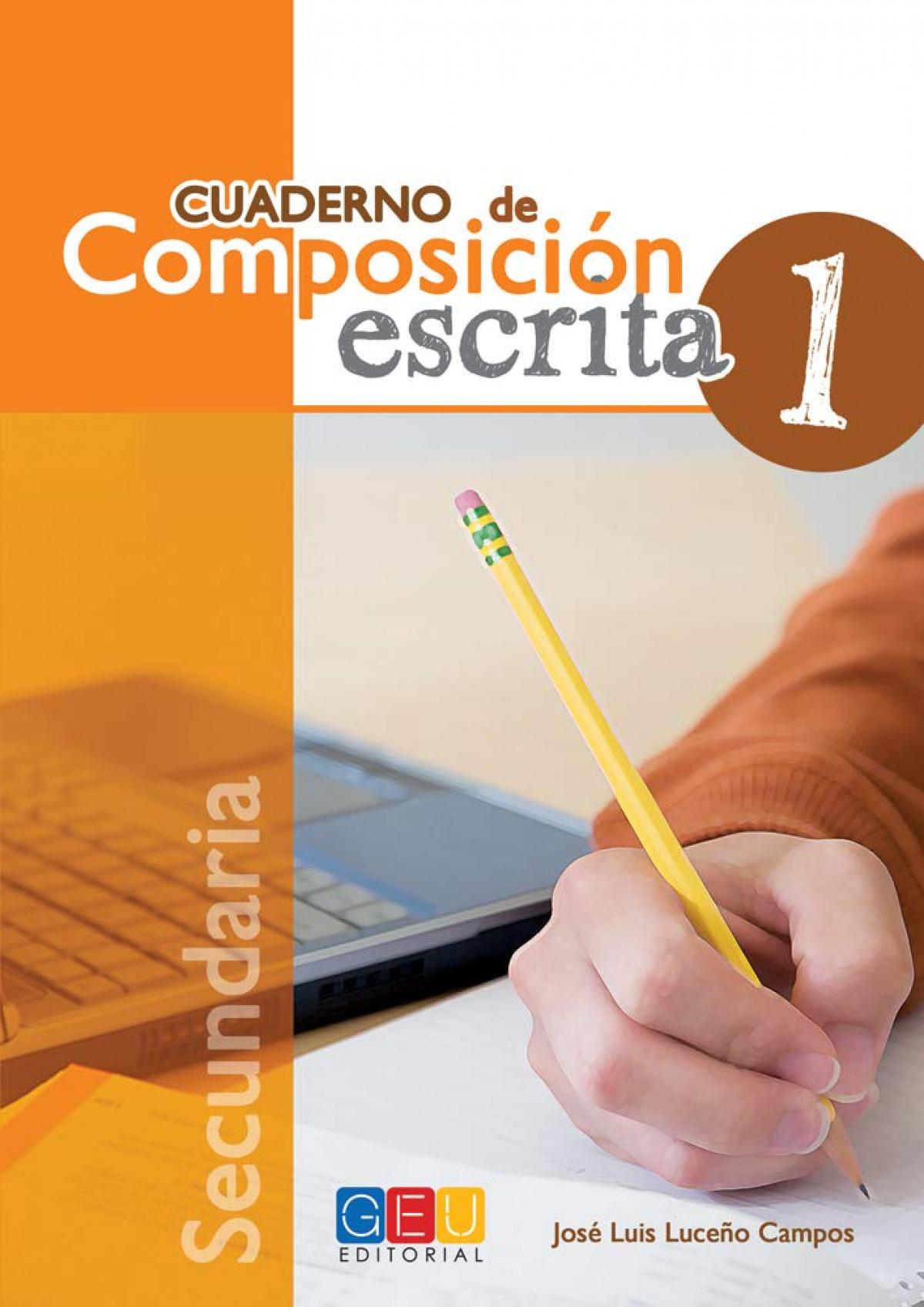 Cuaderno de composición escrita 1 9788499159423