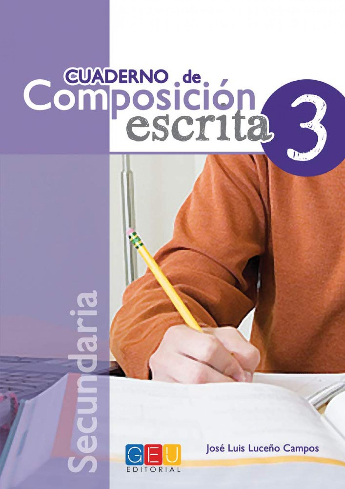 Cuaderno de composición escrita 3 9788499159447