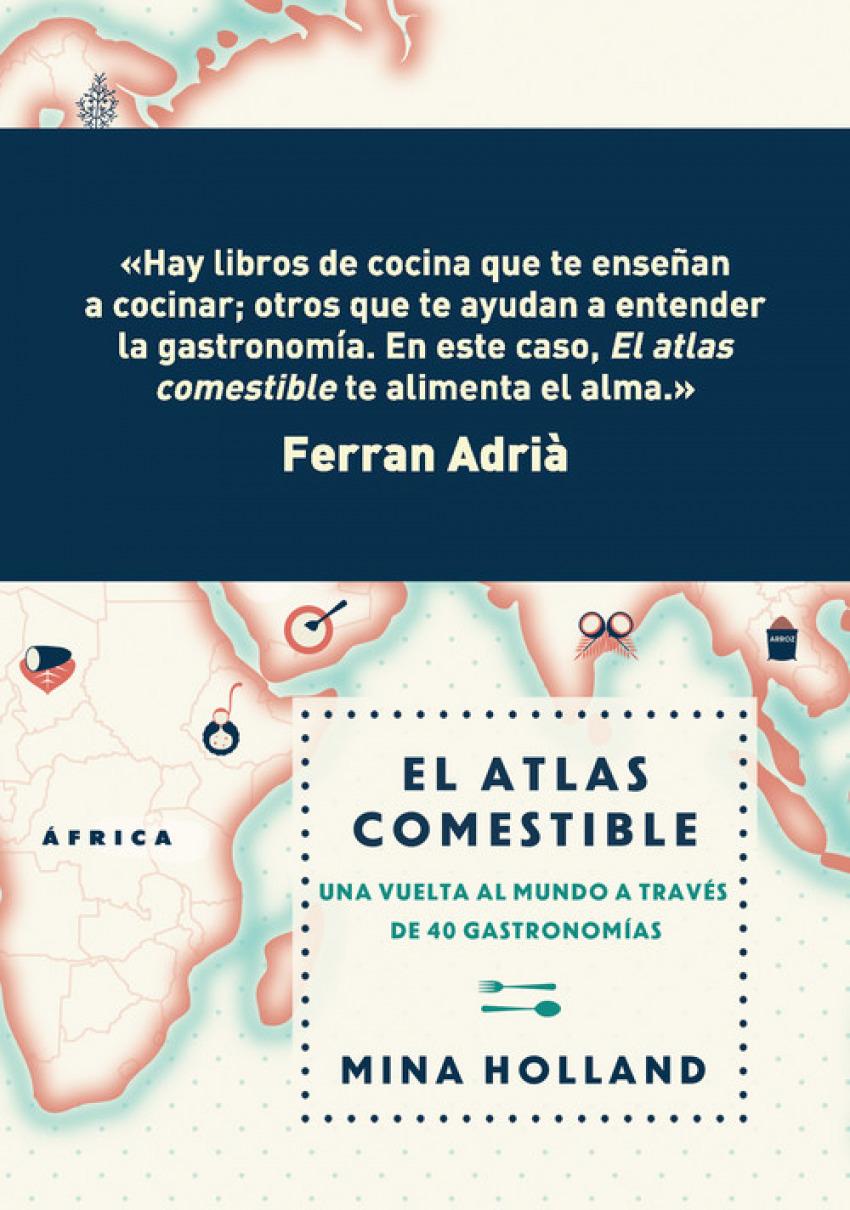 El atlas comestible 9788499188423