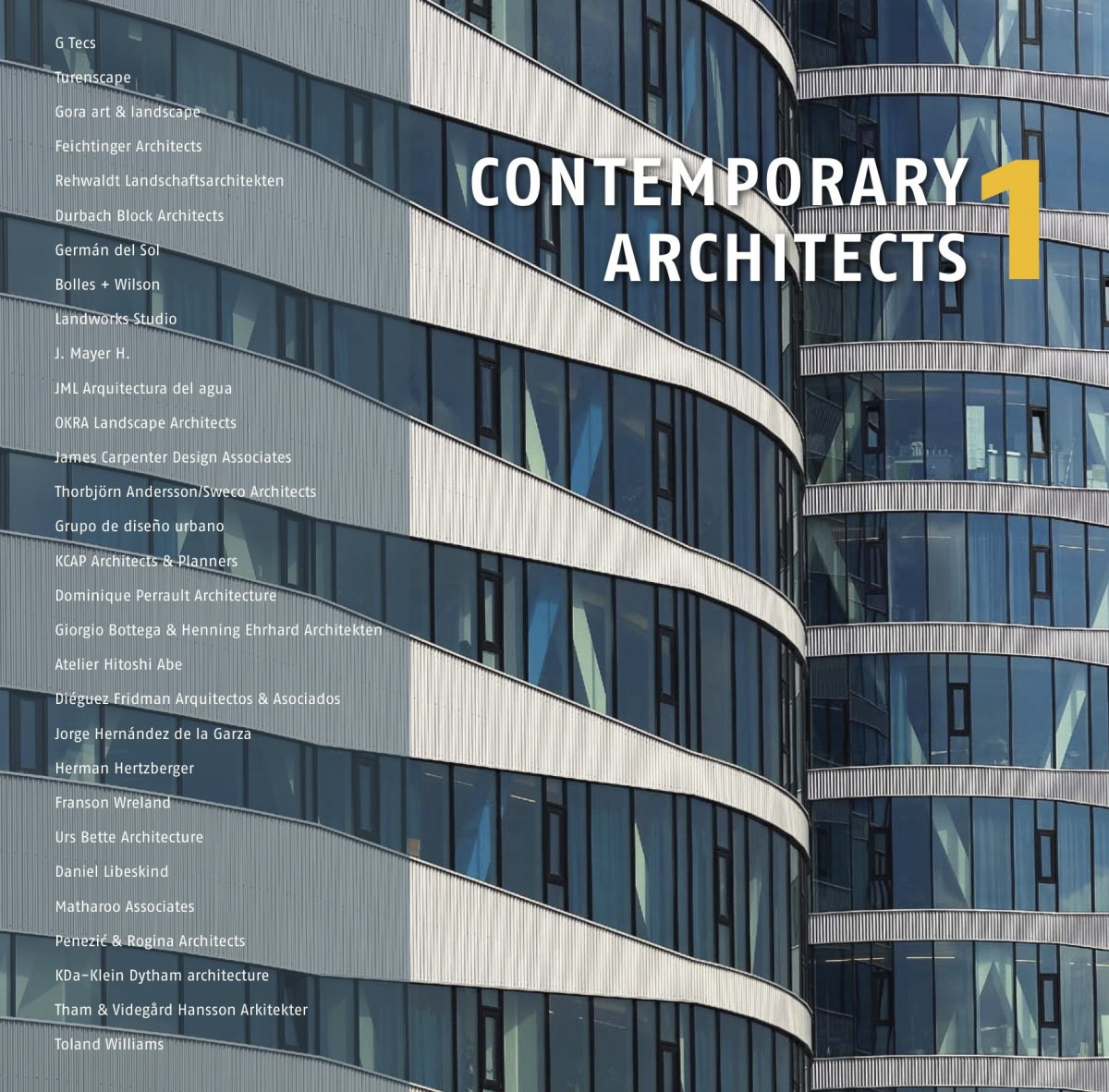 Contemporary architects 1 9788499362779