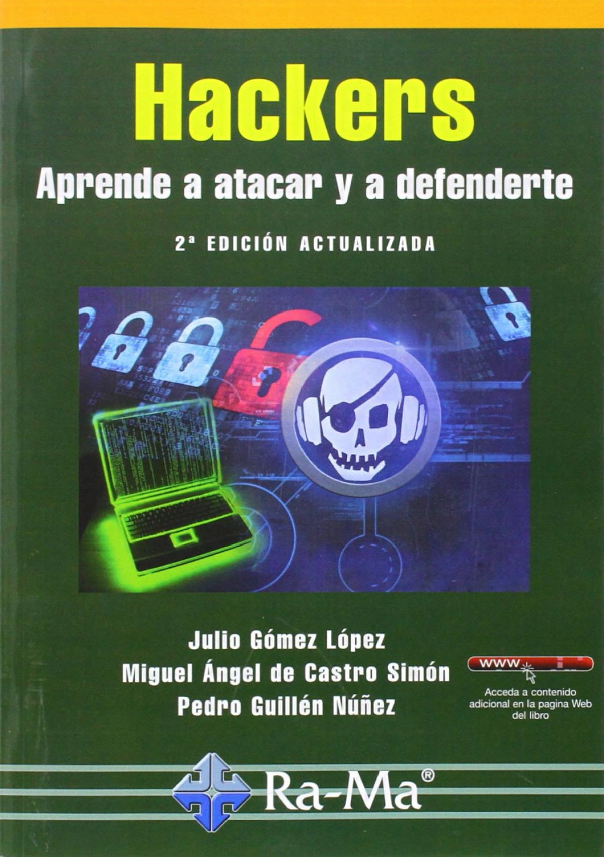 HACKERS (2a. ED.ACT.2014): APRENDE A ATACAR Y DEFENDERTE 9788499645087