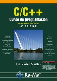 C/C++: CURSO DE PROGRAMACION (4a. ED.2015) 9788499645278