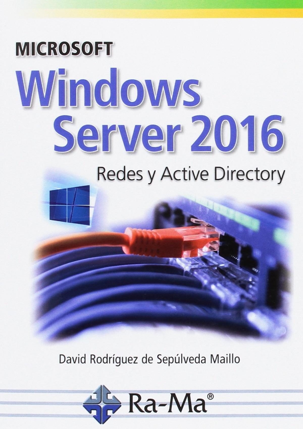 MICROSOFT WINDOWS SERVER 2016 9788499647029