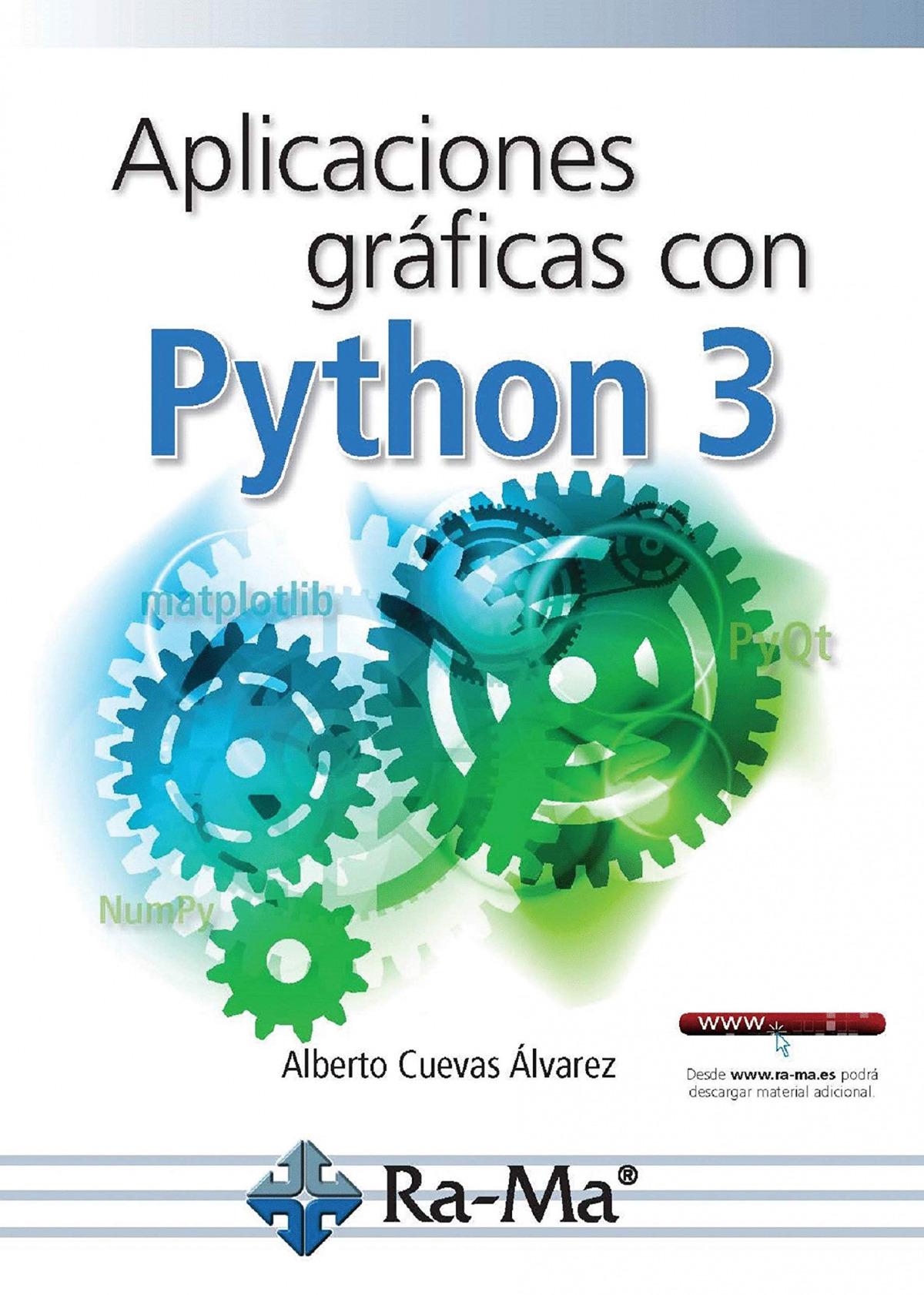 APLICACIONES Y GRÁFICAS CON PYTHON 3 9788499647265