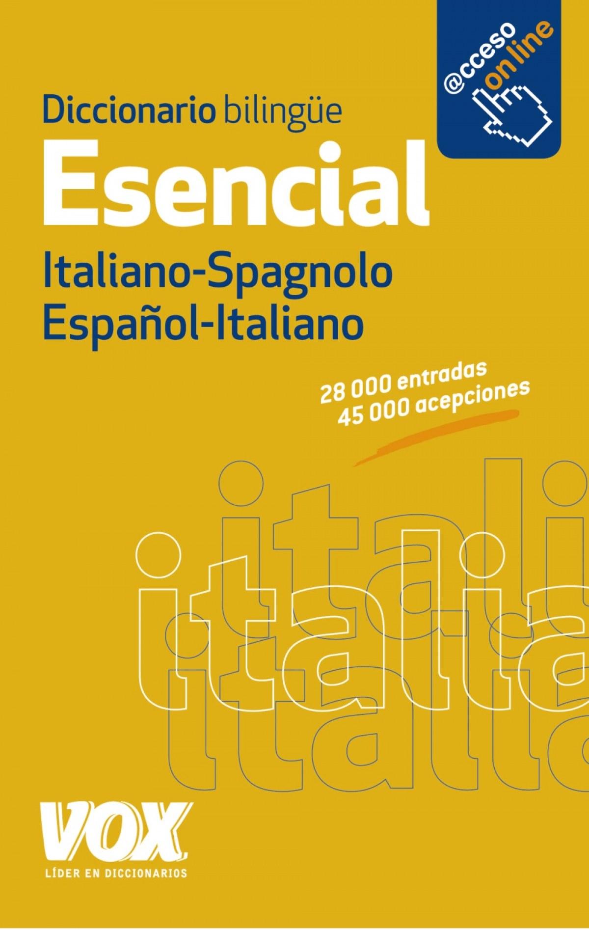 Diccionario esencial español-Italiano VV 9788499741376