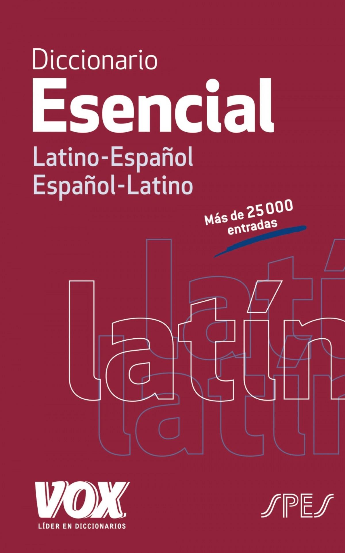Diccionario esencial Latino-Español 9788499742021