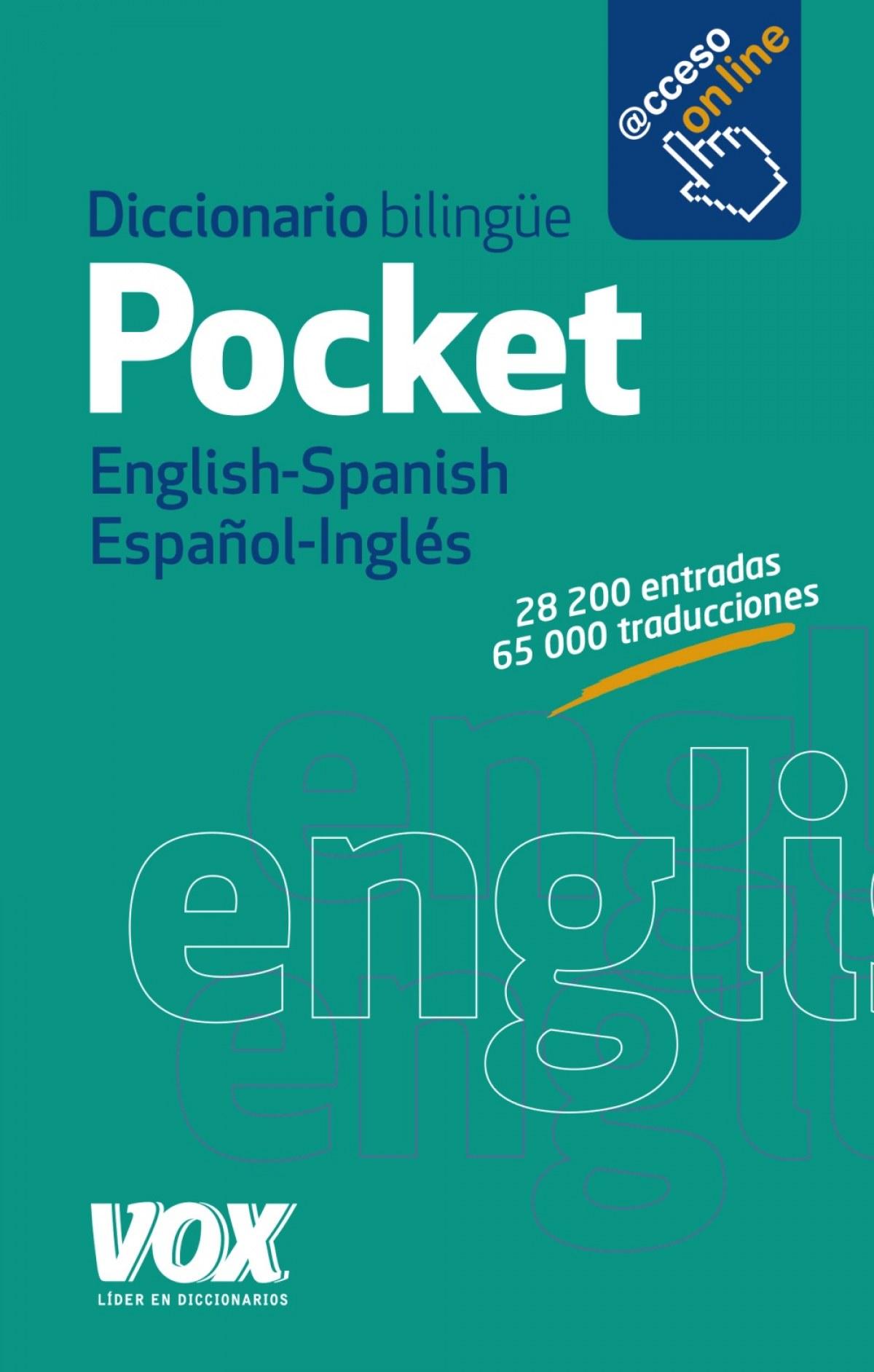 DICCIONARIO POCKET ENGLISH-SPANISH/ESPAñOL-INGLÉS 9788499742090