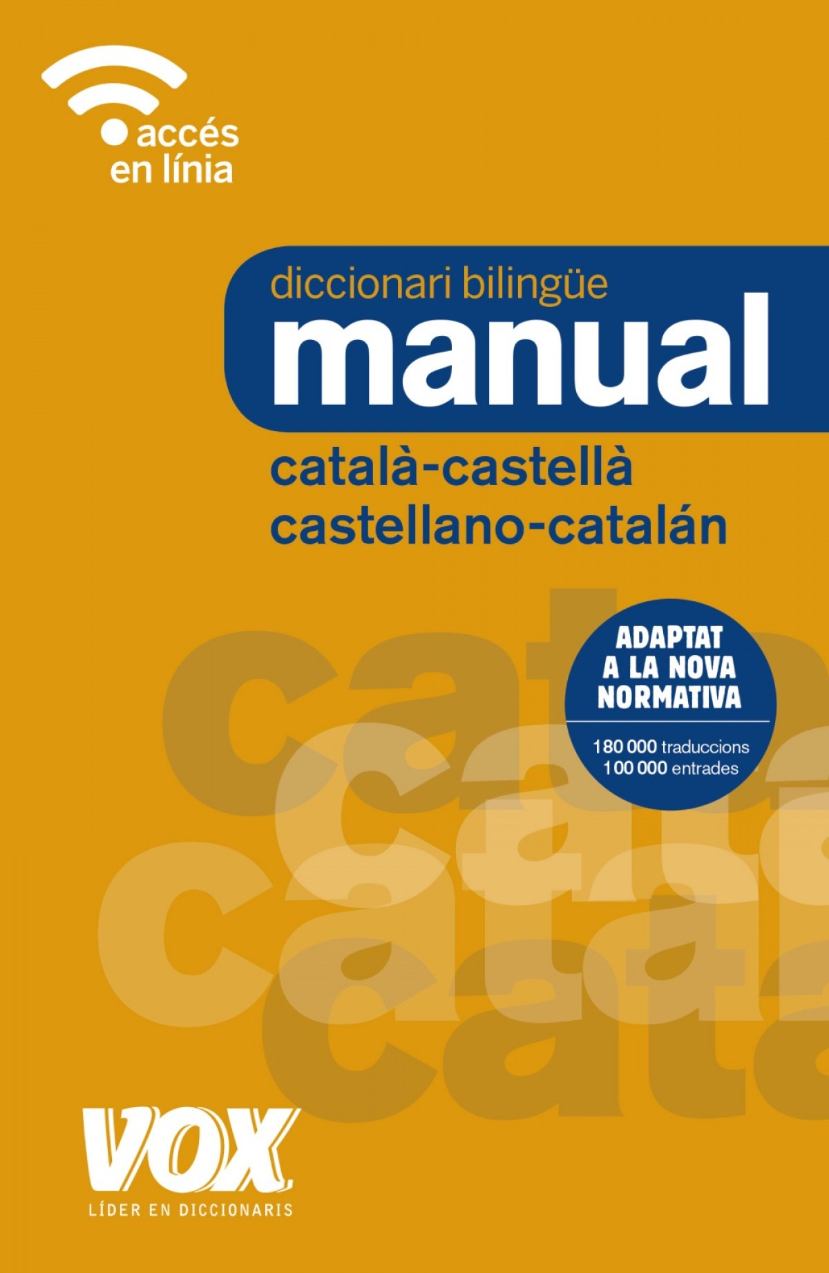 DICCIONARI MANUAL CATALÀ-CASTELLA/CASTELLANO-CATALÁN 9788499742731