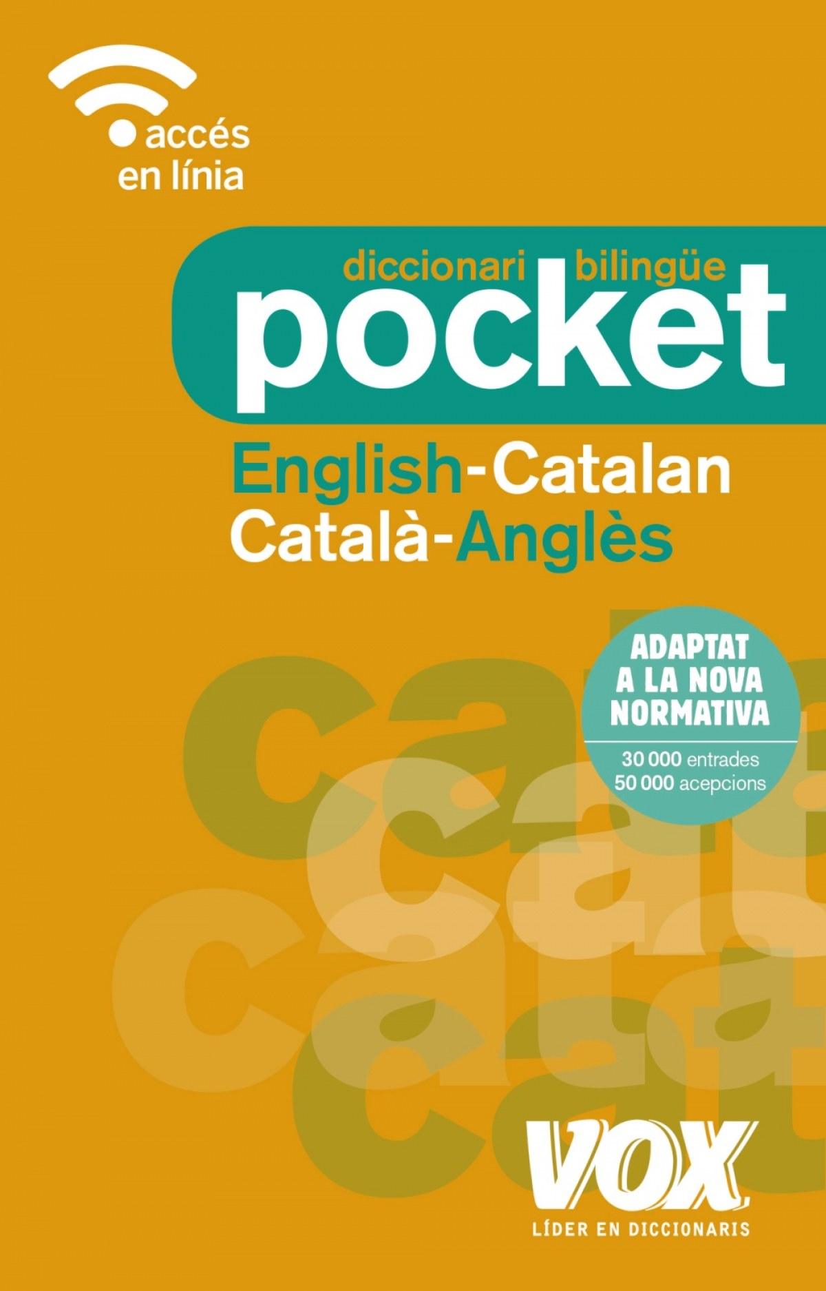 DICCIONARI POCKET ENGLISH-CATALAN/CATALÀ-ANGLÉS 9788499742748