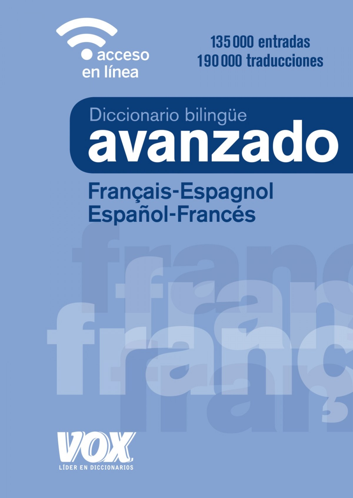 DICCIONARIO AVANZADO FRANçAIS-ESPAGNOL;ESPAñOL-FRANCES 9788499743035
