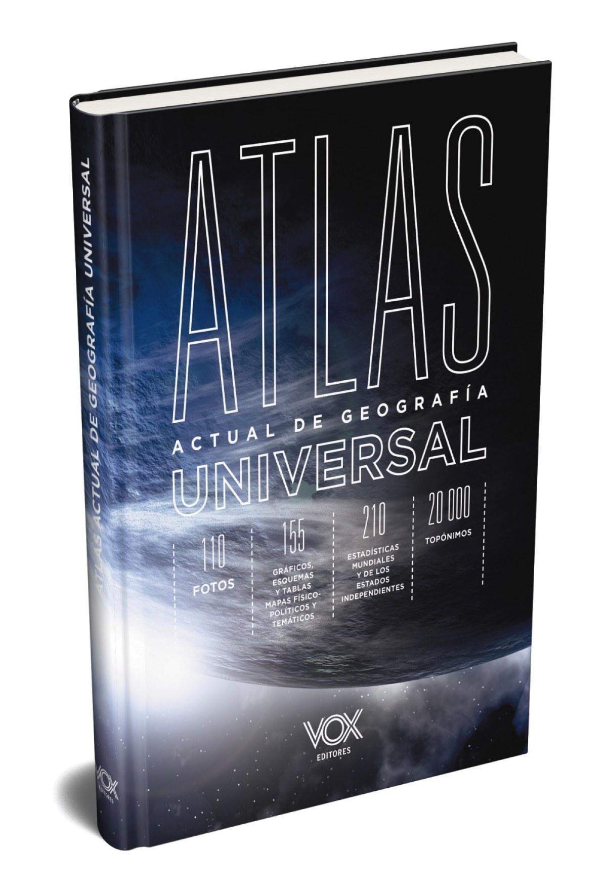ATLAS ACTUAL DE GEOGRAFÍA UNIVERSAL VOX 9788499743233