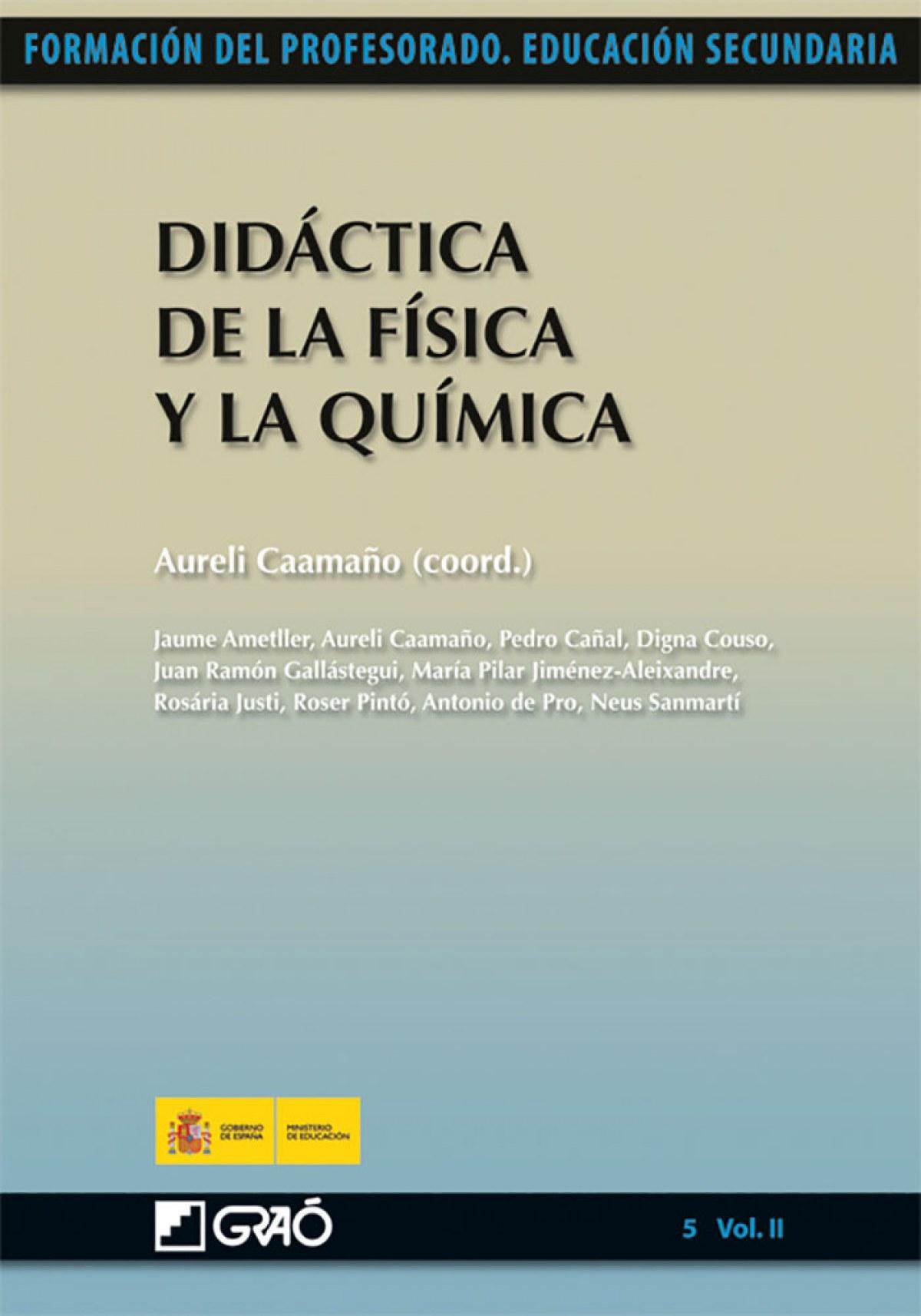 DIDACTICA DE LA FÍSICA Y LA QUÍMICA 9788499800806