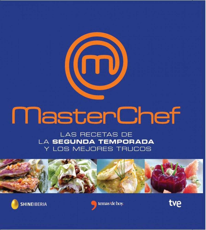Masterchef: las mejores recetas 9788499983882