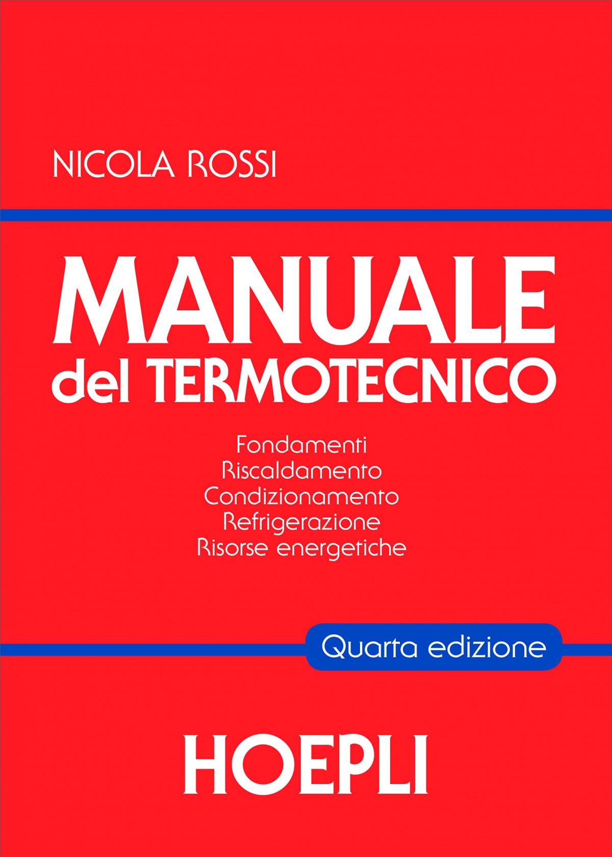 Manuale del termotecnico 9788820359713