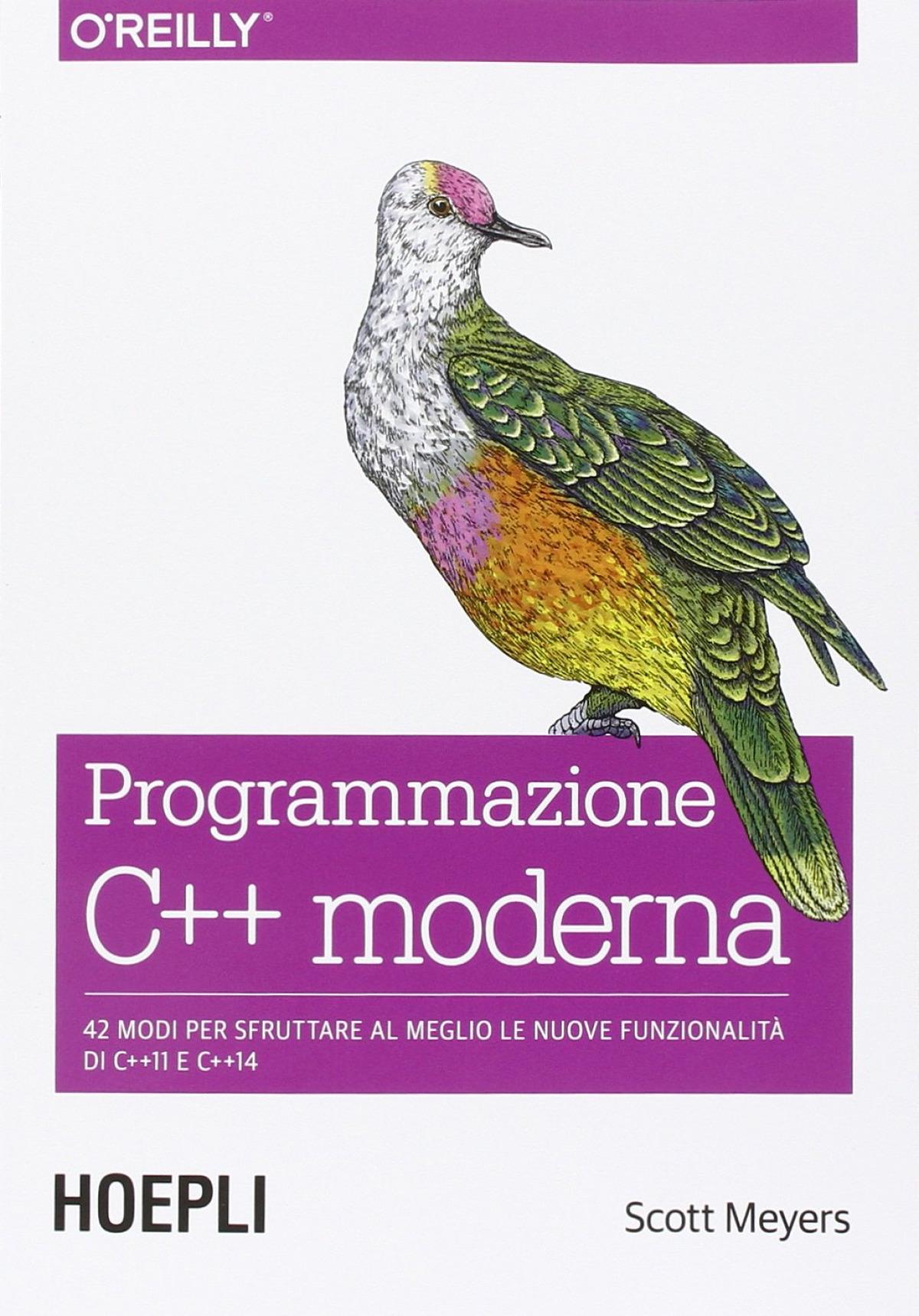 Programmazione C++ moderna 9788820367039