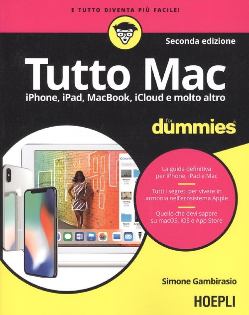 Tutto Mac For Dummies 9788820384678