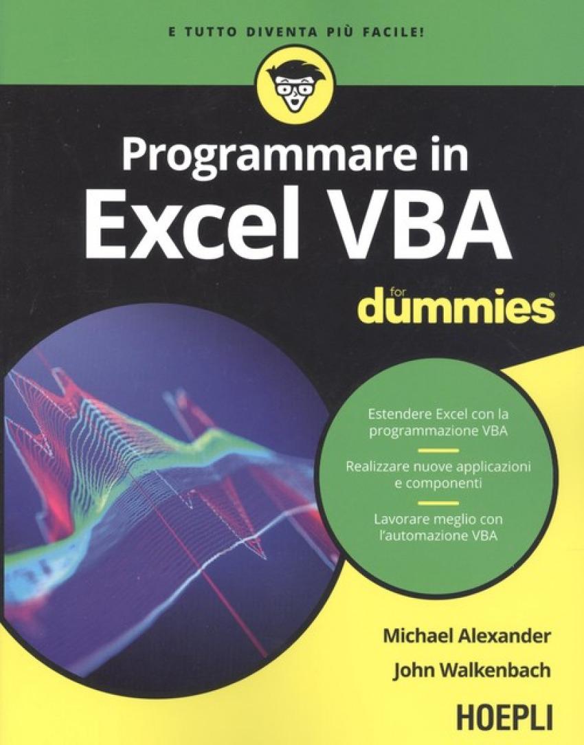 PROGRAMMARE IN EXCEL VBA FOR DUMMIES 9788820390839