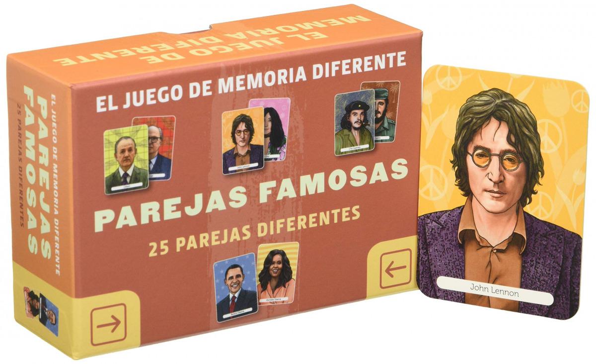 JUEGO DE MEMORIA DIFERENTE PAREJAS FAMOSAS 9789463594875