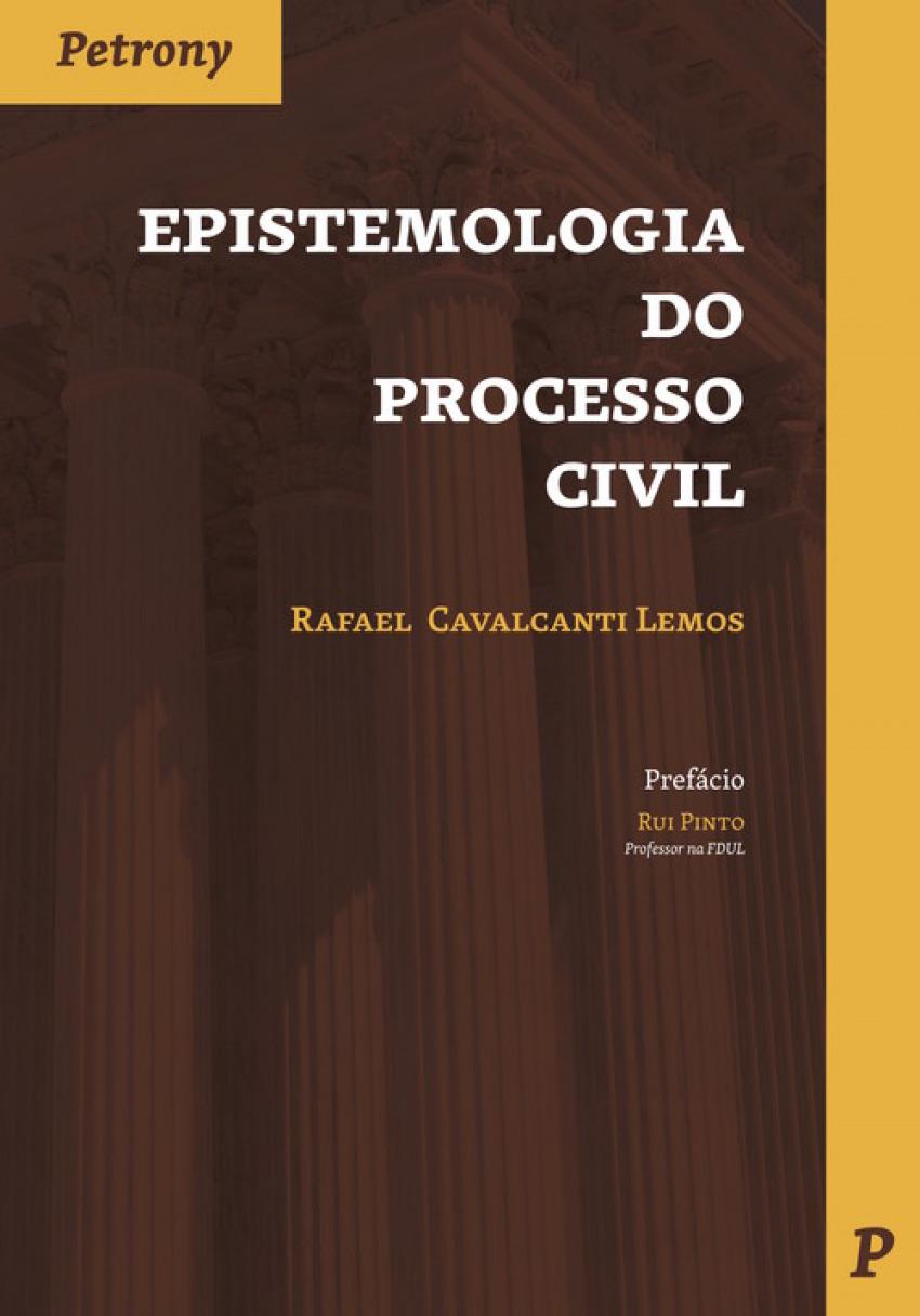 EPISTEMOLOGÍA DO PROCESSO CIVIL 9789726852452