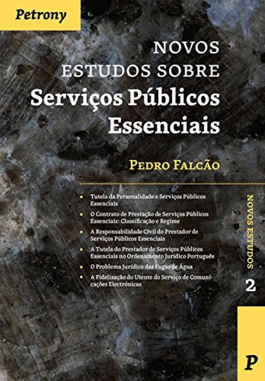 Novos estudos sobre serviços públicos essenciais 9789726852551