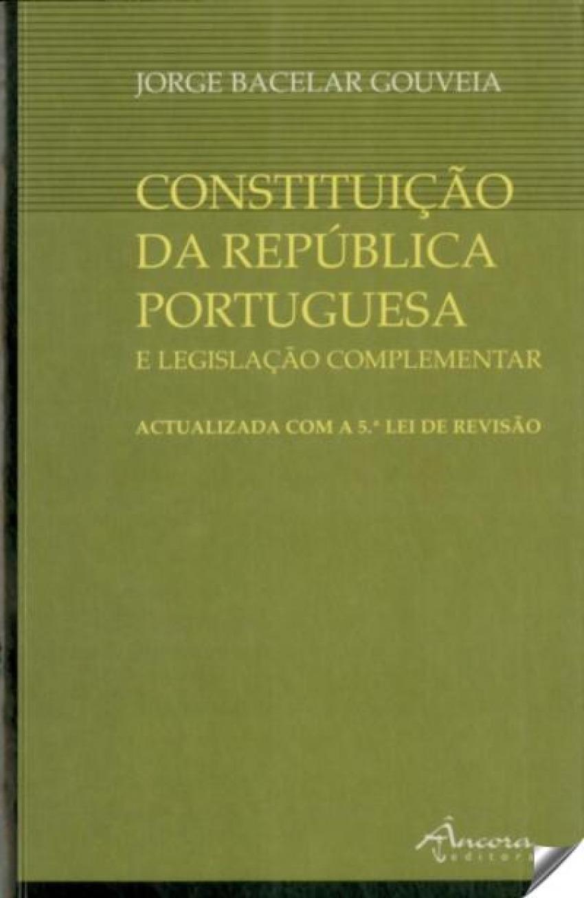 CONSTITUIÇÃO REPÚBLICA PORTUGUESA 9789727800698