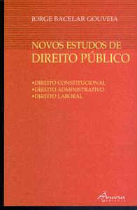 NOVOS ESTUDOS DE DIREITO PÚBLICO 9789727801084