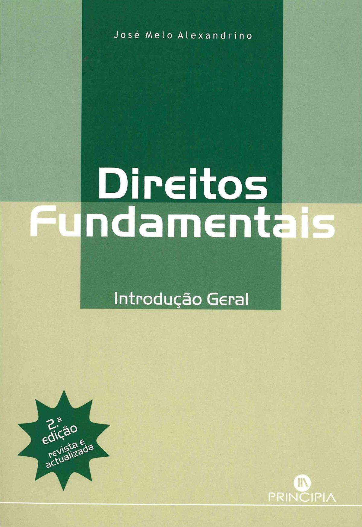 Direitos Fundamentais Introduç. Geral - 2a. Ed. 9789897160325