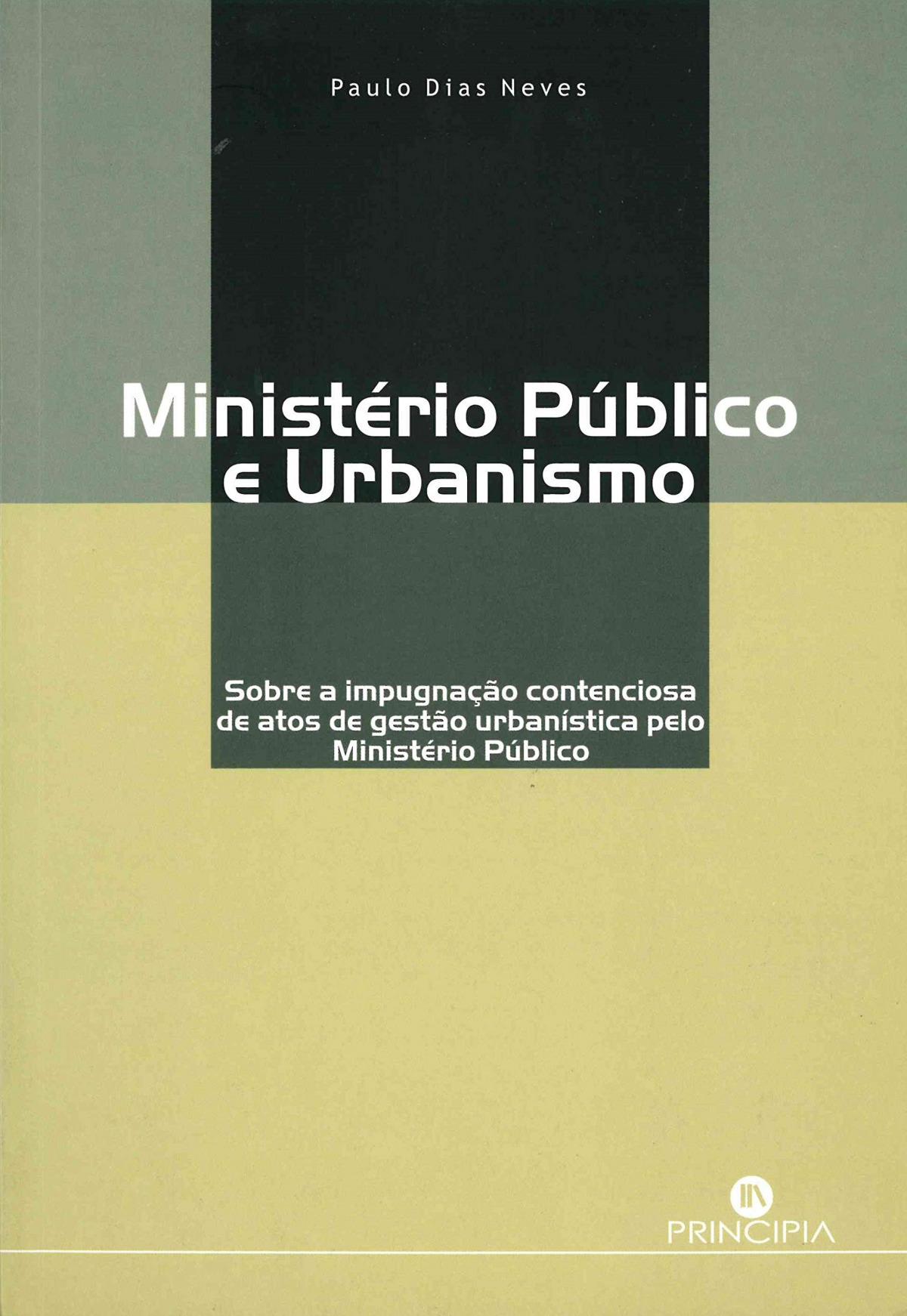 Ministerio Publico e Urbanismo 9789897160851