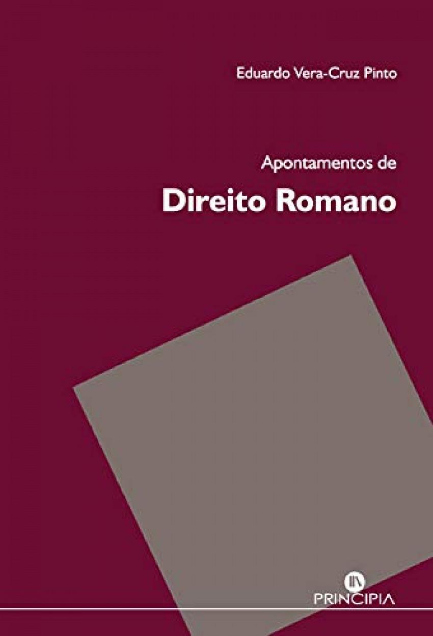 Apontamentos de Direito Romano (753 a.c. 9789897161377