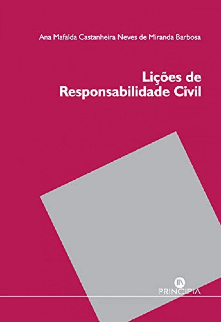Lições de responsabilidade civil 9789897161568
