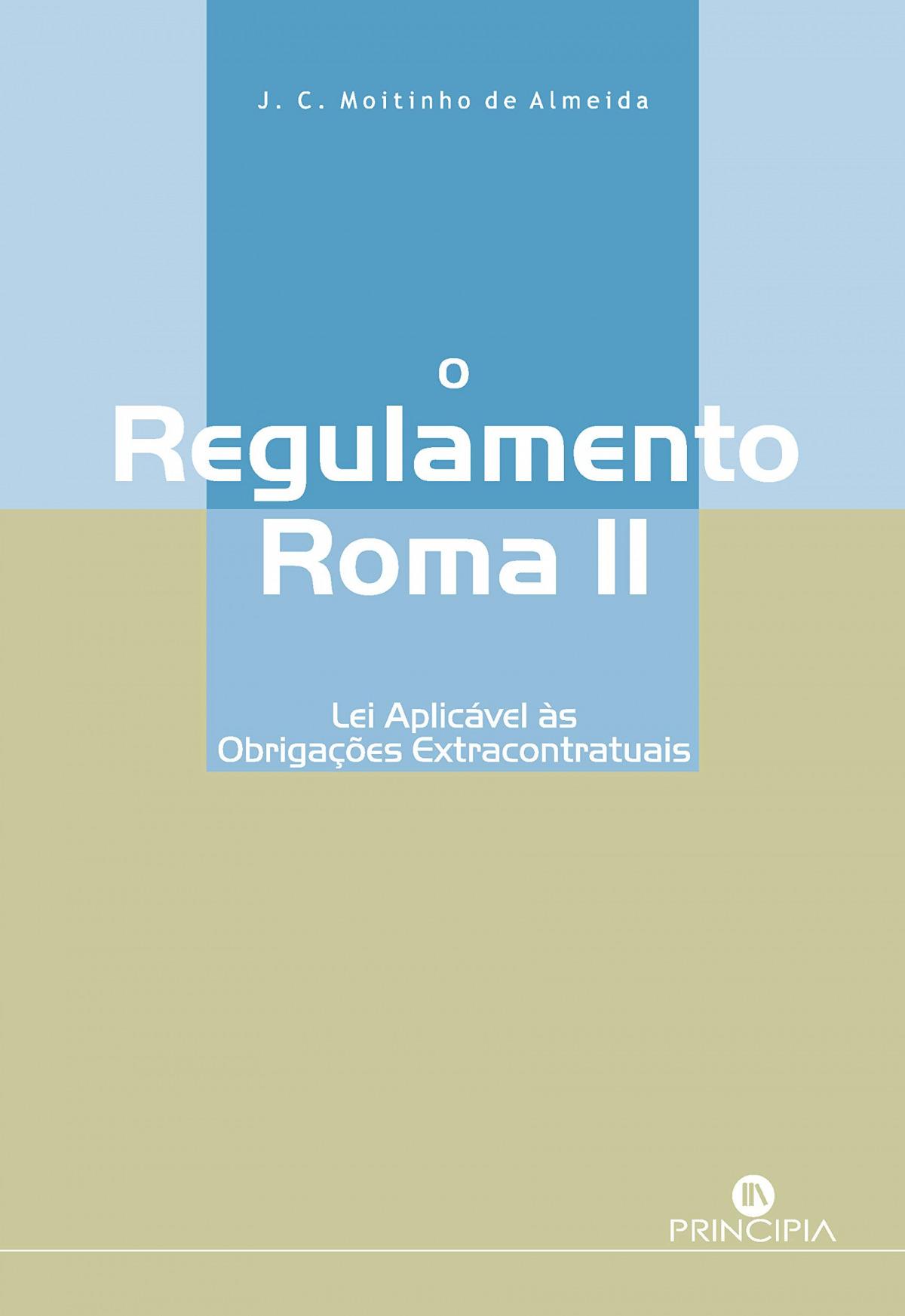 O regulamento Roma II 9789897161605