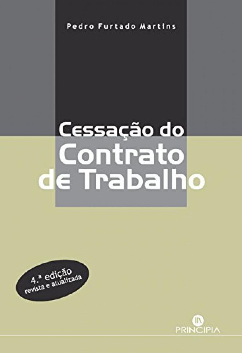 CESSAÇÃO DO CONTRATO DE TRABALHO 9789897161650